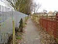 Public footpath 554 - geograph.org.uk - 1758122.jpg