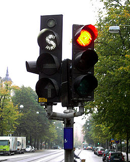 Traffic-light signalling and operation