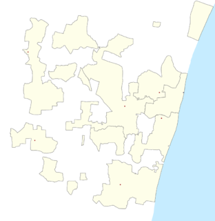 Town in Puducherry, India
