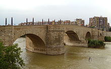 Resultado de imagen de puente de piedra zaragoza