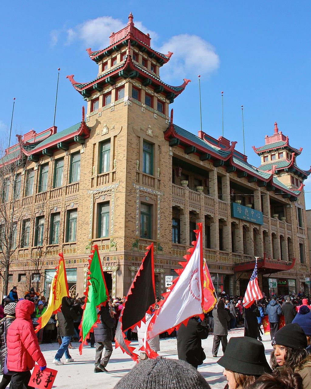 Pui Tak Center - Lunar New Year Parade - panoramio