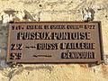 Puiseux-Pontoise (95), plaque de cocher, Grande-Rue.JPG