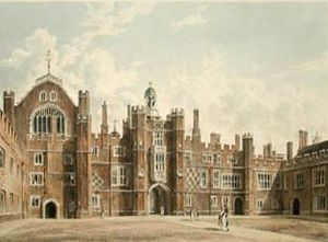 William Henry Pyne - Image: Pynes hamp 1quadrangle