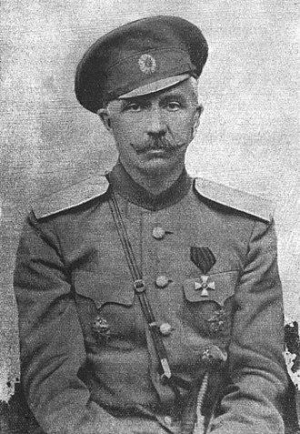 Pyotr Krasnov - Lieutenant-General Pyotr Krasnov