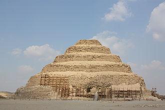 Step pyramid - Pyramid of Djoser in 2010