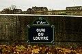 Quai du Louvre sign.jpg