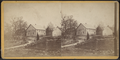 Quaker Meeting House, used by Washington as Hospital after a skirmish near (Croton Lake), from Robert N. Dennis collection of stereoscopic views.png