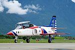 ROCAF Thundertigers AT-3 0823 Taxiing at Hualien Air Force Base Apron 20160813.jpg
