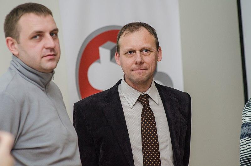 Члени журі: Костянтин Брижниченко, Володимир Лініков; фото Романа Наумова, cc by-sa 4.0