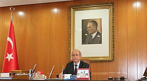 Turkish Historical Society - Prof. Dr. Refik TURAN Current the Chairman of Turkish Historical Society