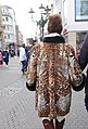 Rabbit fur-coat with wildcat patch print, Düsseldorf 2018.jpg