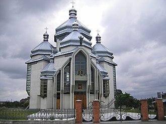 Radekhiv - Church in Radekhiv