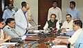 Radha Mohan Singh and the Minister of State for Development of North Eastern Region (IC), Prime Minister's Office, Personnel, Public Grievances & Pensions, Atomic Energy and Space.jpg