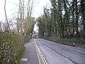 Railway bridge over Swan Lane, West Malling - geograph.org.uk - 1752000.jpg