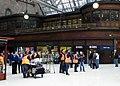 Railway film crew at Glasgow Central - geograph.org.uk - 1300555.jpg