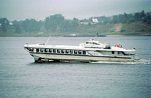 Krasnoye Sormovo Factory No. 112 - A Raketa hydrofoil on the Volga