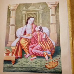 Comfort - Rama comforts Sita