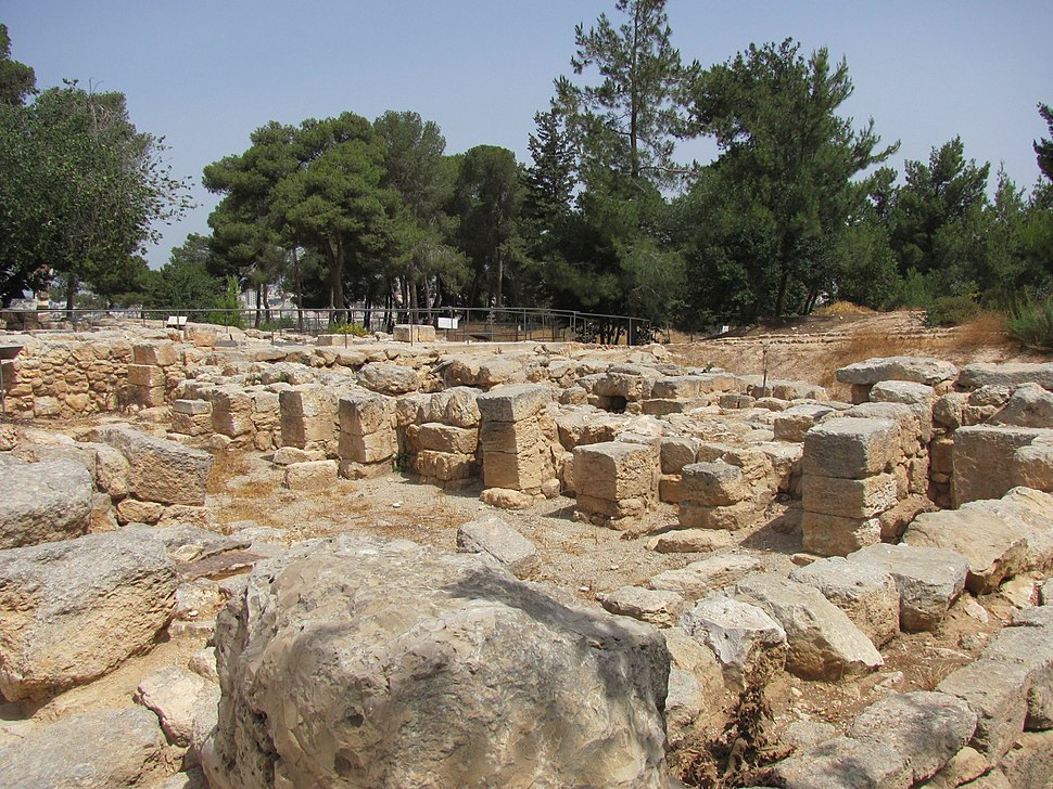 Ramat Rachel Archeological Park