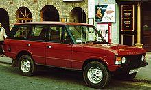 Land Rover Darien >> Range Rover Classic - Wikipedia