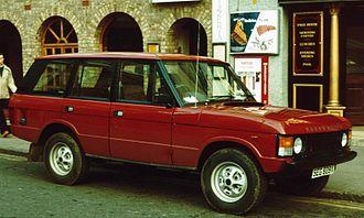 Range Rover Classic - Early Range Rover five-door