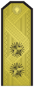 Rank insignia of Контраадмирал of the Bulgarian Navy.png