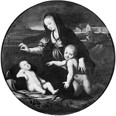 Virgin and Child with the Infant St John