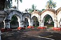 Rasmancha of Hatnagar Shiva Deul temple with Rasmancha at Egra under Purba Medinipur district in West Bengal 04.jpg
