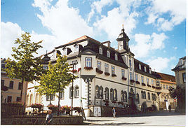 The town hall of Ilmenau