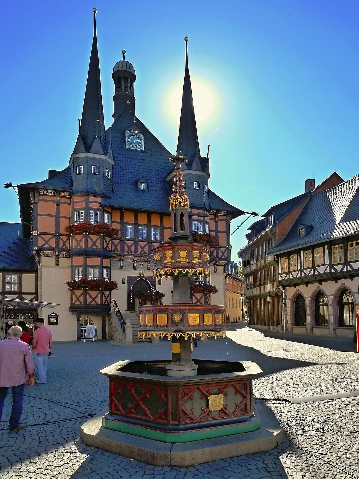 rathaus wernigerode wikipedia. Black Bedroom Furniture Sets. Home Design Ideas