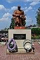 Ratne Volynska-group of brotherly graves of soviet warriors-details-01.jpg