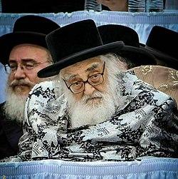 Rav Mordechai Hager, zt'l, the Vizhnitzer Rebbe.jpg