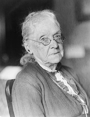 Women in the United States Senate - Rebecca Latimer Felton, the first female member of the United States Senate, who served for one day in 1922.