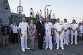 Reception with Ambassador Pyatt Aboard USS ROSS, July 24, 2016 (27968039473).jpg