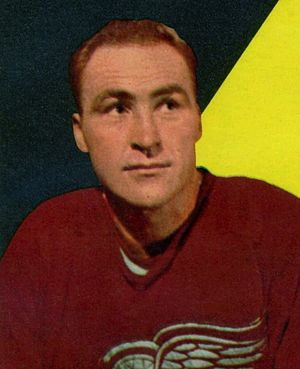 Red Kelly - Red Kelly with the Detroit Red Wings