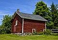 Red barn near parking circle, Locust Lawn Estate, Gardiner, NY.jpg