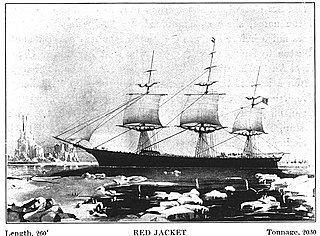 <i>Red Jacket</i> (clipper) American clipper ship, launched in 1853