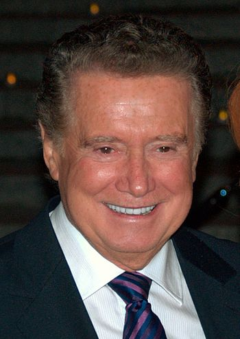 English: Regis Philbin at the Vanity Fair kick...