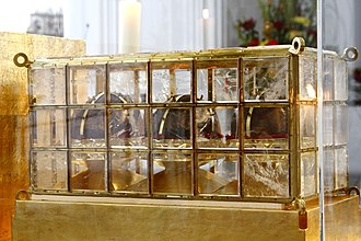 Saint Kilian - Relic of Kilian, Colman and Totnan