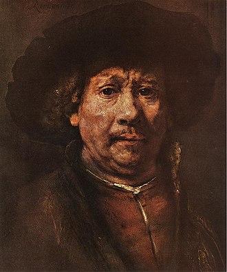 Pleasantville (film) - Image: Rembrandt Little Self Portrait WGA19215