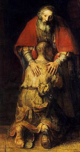 Rembrandt - The Return of the Prodigal Son (detail) - WGA19137