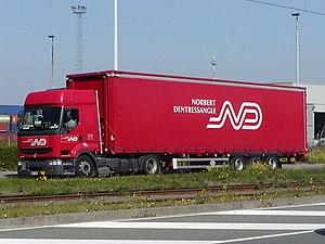 Norbert Dentressangle - A Norbert Dentressangle lorry