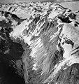 Rendu Glacier, terminus of branch of Rendu Glacier, hanging glacier, icefall and valley glacier, circa 1964 (GLACIERS 5810).jpg