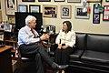 Rep. George Miller meeting with Labor Secretary Hilda Solis (5448785883).jpg