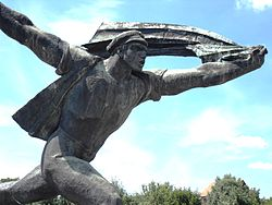 Republic of Councils Monument at Memento Park 2.JPG