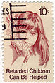 Retarded Children Can Be Helped Postage Stamp.jpg