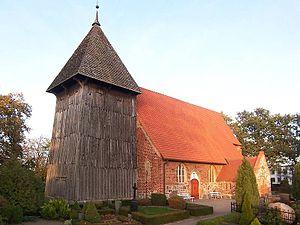 Börgerende-Rethwisch - Church in Rethwisch