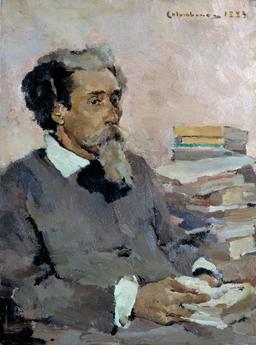 Retrato de Bulhão Pato (1883) - Columbano Bordalo Pinheiro