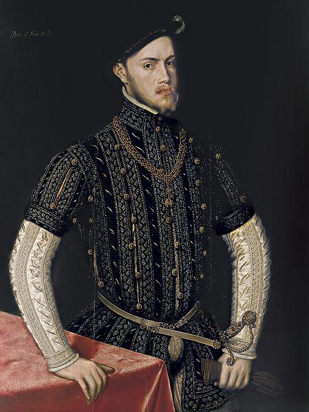 Retrato de Felipe II, de Antonio Moro