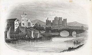 Rhuddlan Castle, near Rhyl, Flintshire