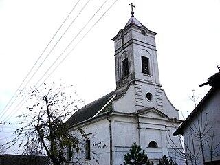 Riđica Village in Vojvodina, Serbia
